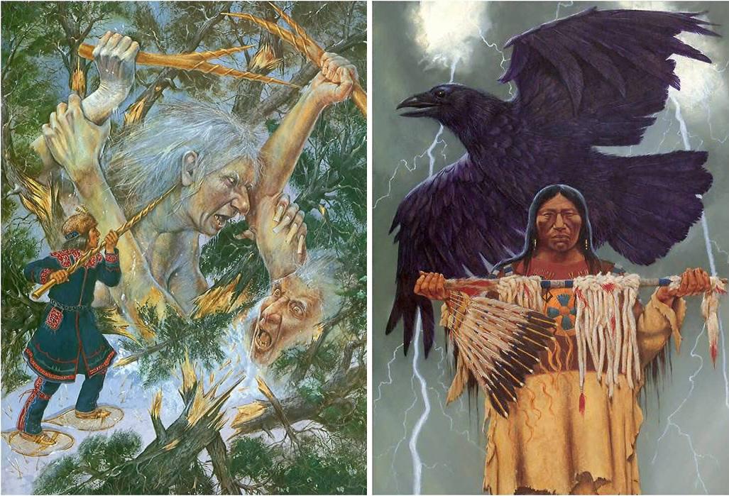 мифологическая живопись